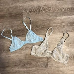 Intimately Free People Lace Bra Bundle - Size 34A